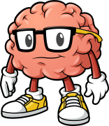 The Brainy Brain Logo